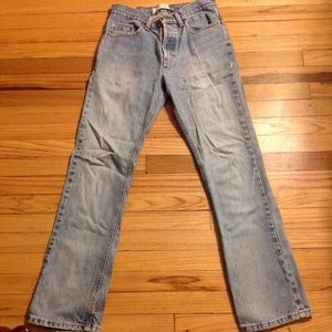 Vintage GAP bootcut button-fly jean ~ Size 6